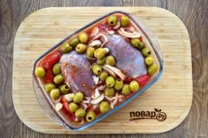 Курица в томатно-оливковом соусе - фото шаг 3