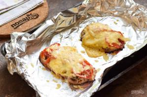 Мясо по-французски в фольге с грибами - фото шаг 9
