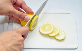 Украшения из лимона - фото шаг 1