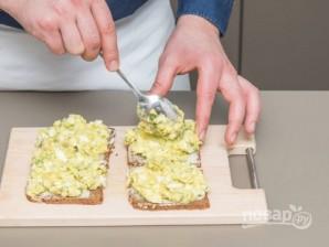 Яичный салат с авокадо - фото шаг 3