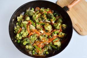 Стир-фрай из овощей - фото шаг 7