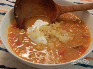 Суп из кислой капусты - фото шаг 8