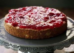 Бисквитный торт со взбитыми сливками - фото шаг 5