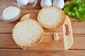 Бутерброд с яйцом (мастер класс) - фото шаг 3
