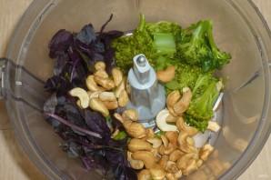 Паста с брокколи и орехами - фото шаг 3