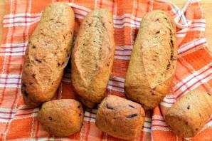 Мини-багеты с жареным луком - фото шаг 8