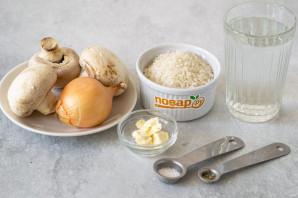 Рисовая каша с грибами - фото шаг 1