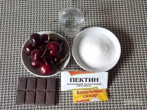 Черешневое варенье с шоколадом - фото шаг 1