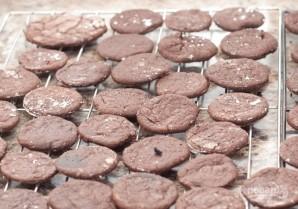 Шоколадное печенье в шоколаде - фото шаг 6