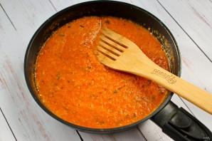 Зимний соус из запеченных помидоров - фото шаг 5