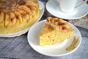 Ароматный яблочный пирог с корицей - фото шаг 8