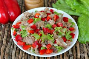 Будапештский салат с говядиной - фото шаг 7