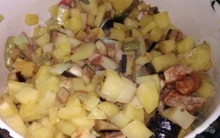 Жаркое с говядиной и овощами на растительном масле - фото шаг 9
