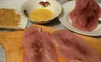 Ромштекс из курицы на сковороде - фото шаг 2