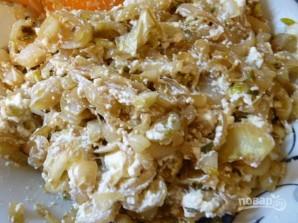 Греческий лук с мягким сыром - фото шаг 10