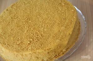 Торт с медом - фото шаг 14