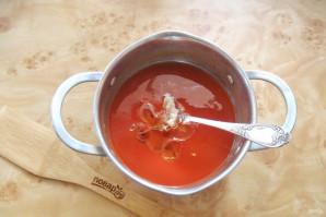 Цветная капуста в томатной заливке - фото шаг 7