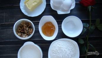 Медовый торт с карамельным кремом - фото шаг 1