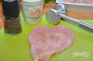 Курица с сальсой из папайи - фото шаг 1