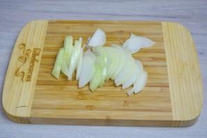Лодочки из баклажанов с овощами - фото шаг 2