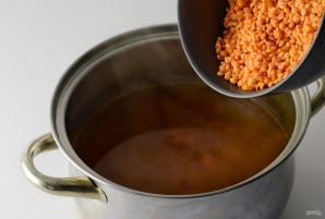 Суп из красной чечевицы - фото шаг 4