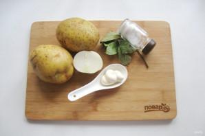 Картофельное пюре с майонезом - фото шаг 1