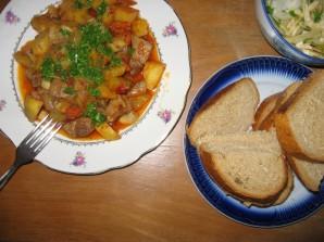 Жаркое на сковороде - фото шаг 4