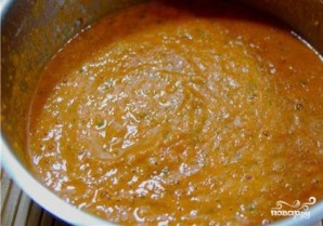 Томатный суп с мидиями - фото шаг 8