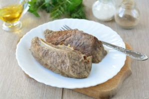 Салат из свиного легкого - фото шаг 4