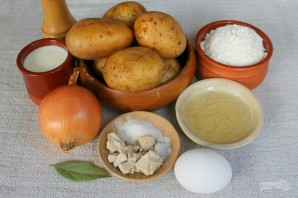 Кулебяка с картошкой - фото шаг 1