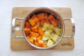 Тыквенный суп-пюре с мясом - фото шаг 4