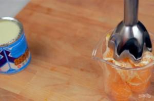 Домашнее мороженое с мандаринами - фото шаг 1