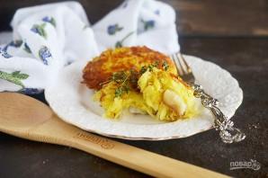 Рыба в картофельной шубе - фото шаг 7