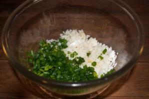 Пирог с курицей и рисом - фото шаг 3