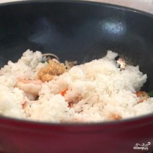 Жареный рис с морепродуктами по-тайски - фото шаг 4