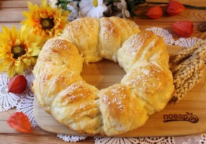 Итальянский хлеб с сыром - фото шаг 13