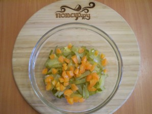 Салат с печенью куриной - фото шаг 4