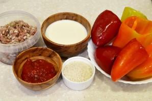 Фаршированные перцы в томатном соусе - фото шаг 1
