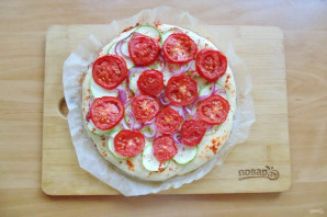 Испанская пицца - фото шаг 10
