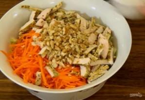 Легкий салат из пекинской капусты с курицей - фото шаг 2
