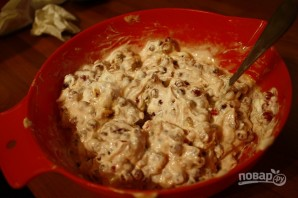 Пирог с брусникой из песочного теста - фото шаг 3
