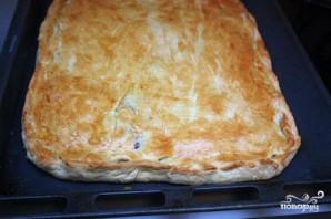 Пирог с тиляпией - фото шаг 8