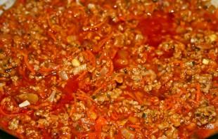 Спагетти под соусом болоньезе - фото шаг 5