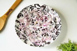 Салат с картофелем - фото шаг 6