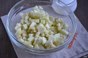 Пирог из слоеного теста с яблоками - фото шаг 2