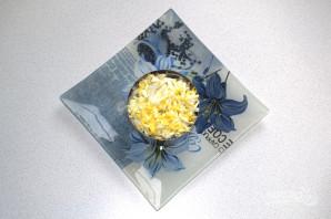 Слоеный салат с селедкой - фото шаг 10