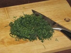 Сырные блинчики с зеленью - фото шаг 5