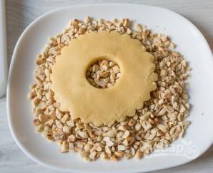 Песочные кольца с орехами - фото шаг 6
