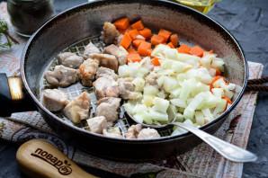Ячневая каша с мясом - фото шаг 4