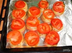 Горячие гренки-бутерброды - фото шаг 3